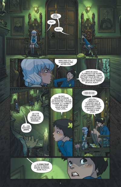 Page 6 Gotham Academy tome 1