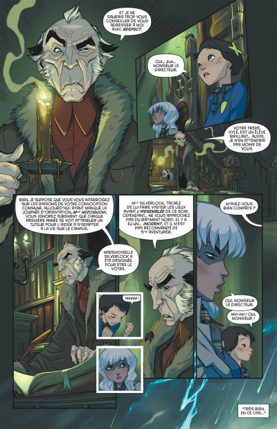 Page 7 Gotham Academy tome 1