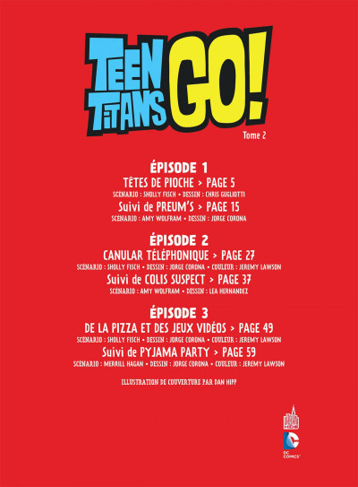 Page 3 Teen Titans Go ! tome 2