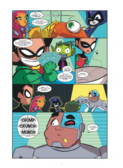 Page 7 Teen Titans Go ! tome 2