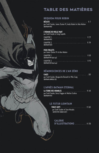 Page 5 Batman tome 6 - passé, présent, futur