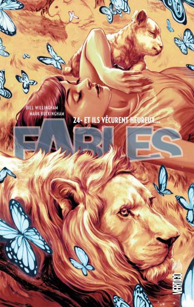 Couverture Fables tome 24 - souple