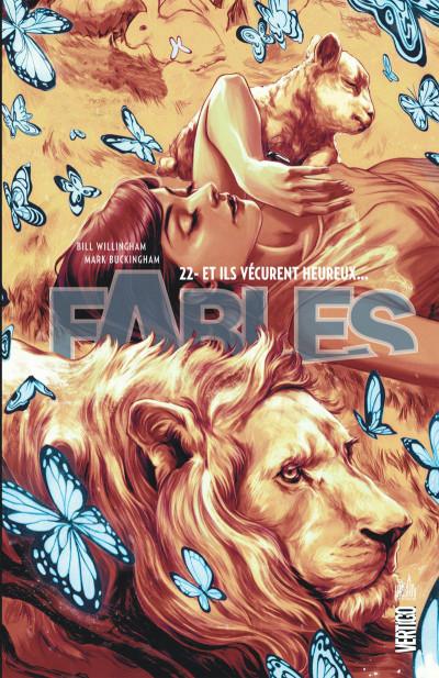 Couverture Fables tome 22 - cartonné