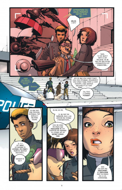 Page 0 Rocket girl tome 1