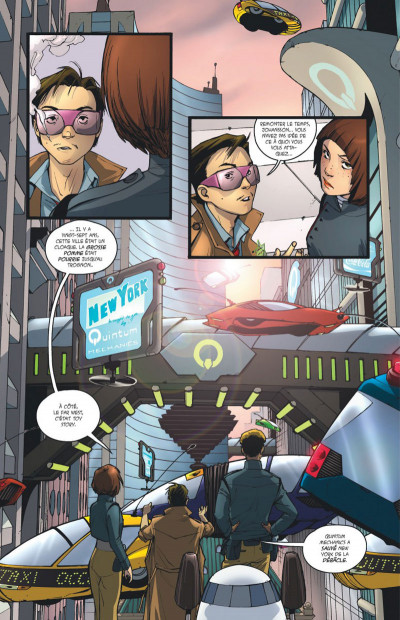 Page 1 Rocket girl tome 1
