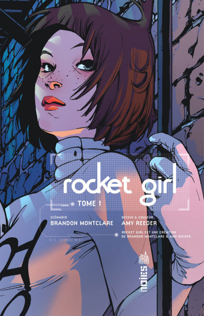 Page 3 Rocket girl tome 1