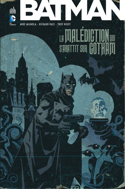 Couverture Batman - La malédiction qui s'abattit sur Gotham