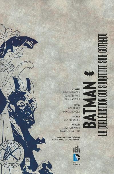 Page 3 Batman - La malédiction qui s'abattit sur Gotham
