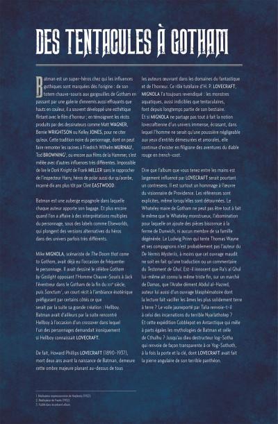Page 4 Batman - La malédiction qui s'abattit sur Gotham