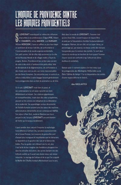 Page 5 Batman - La malédiction qui s'abattit sur Gotham