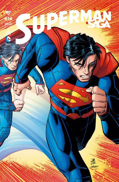 Couverture Superman Saga tome 14