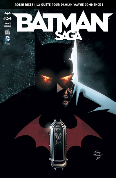 Couverture Batman Saga tome 34