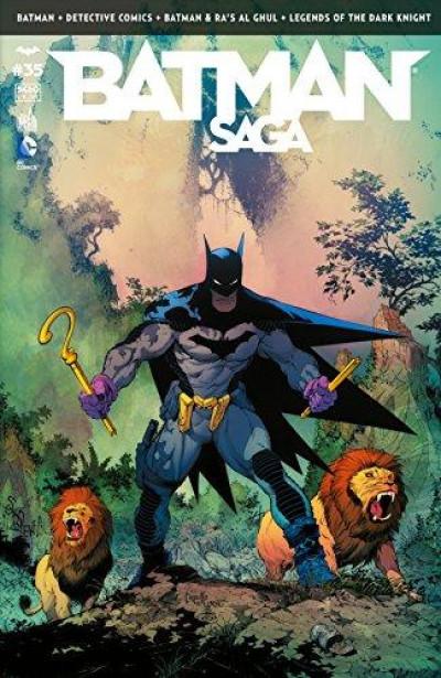 Couverture Batman saga tome 35