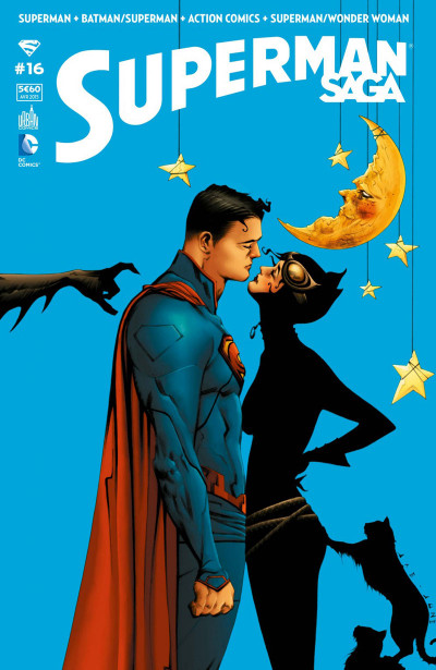 Couverture Superman Saga tome 16