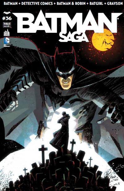 Couverture Batman Saga tome 36