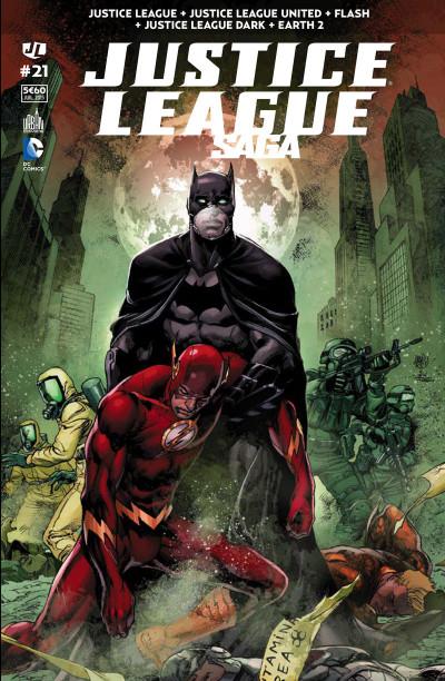 Couverture Justice League Saga tome 21