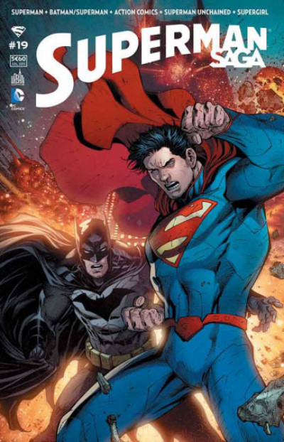 Couverture Superman Saga tome 19