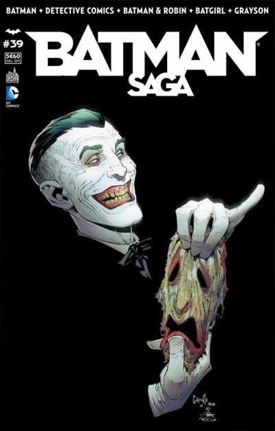 Couverture Batman Saga tome 39