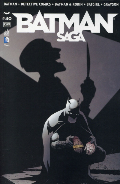Couverture Batman Saga tome 40