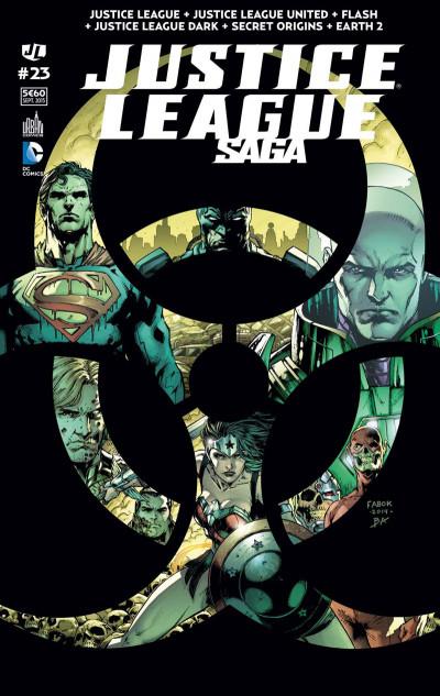 Couverture Justice League Saga tome 23