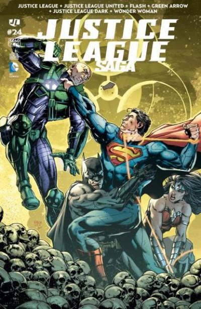 Couverture Justice League saga tome 24