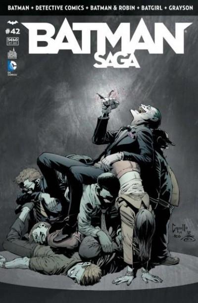 Couverture Batman saga tome 42