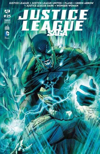 Couverture Justice League saga tome 25