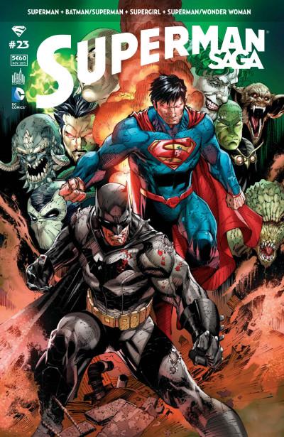 Couverture Superman saga tome 23