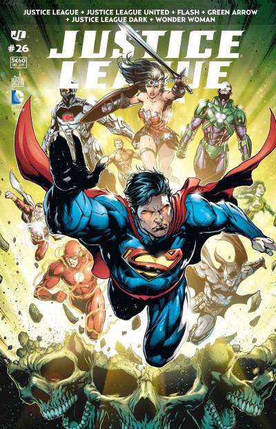 Couverture Justice League saga tome 26