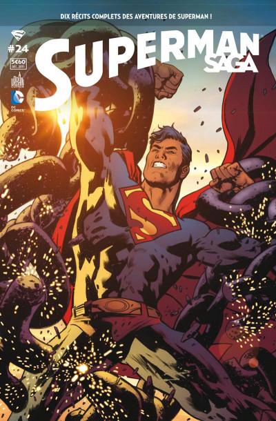 Couverture Superman saga tome 24