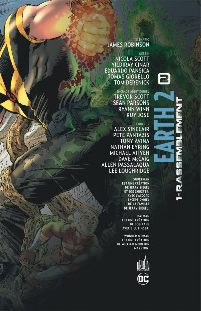 Page 3 Earth 2 tome 1 - Rassemblement
