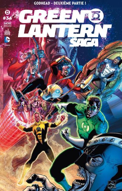 Couverture Green Lantern saga tome 34