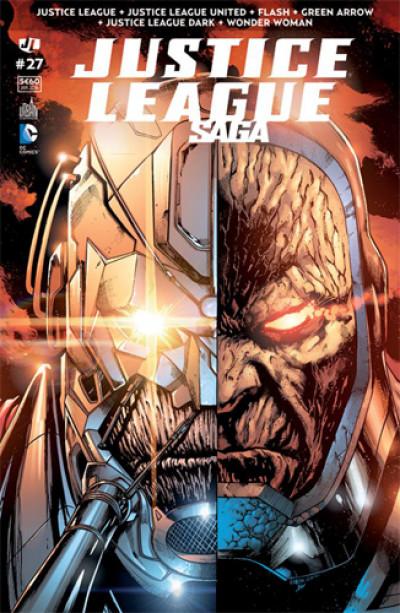 Couverture Justice league saga tome 27
