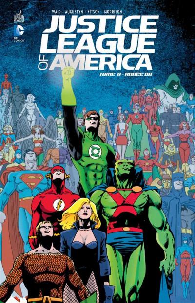 Couverture Justice league of America tome 0 - année un