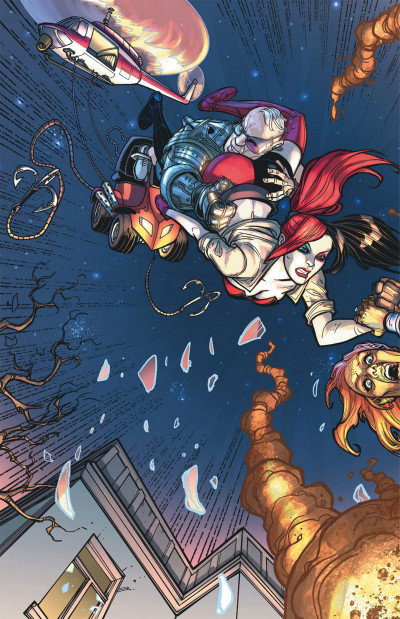 Page 2 Harley Quinn tome 1