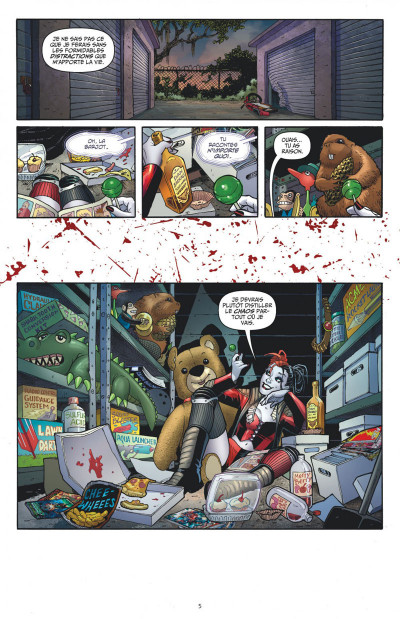 Page 5 Harley Quinn tome 1