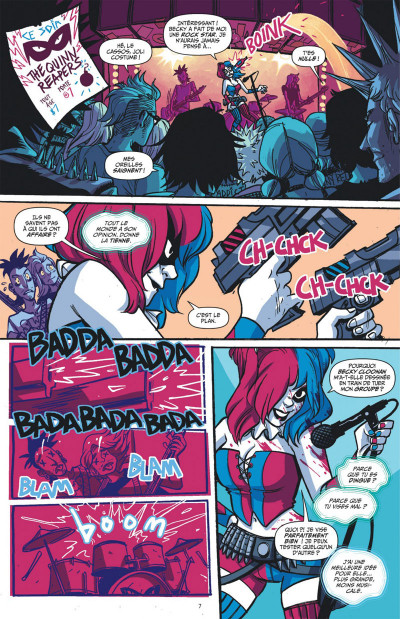 Page 7 Harley Quinn tome 1