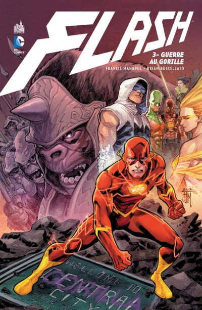 Couverture Flash tome 3