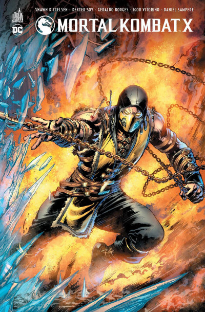 Couverture Mortal kombat X