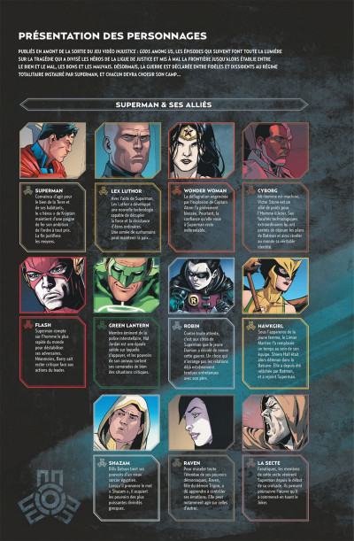 Page 4 Injustice tome 3