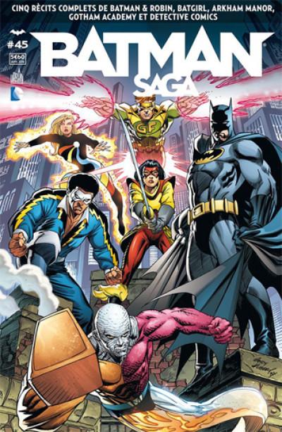 Couverture Batman saga tome 45