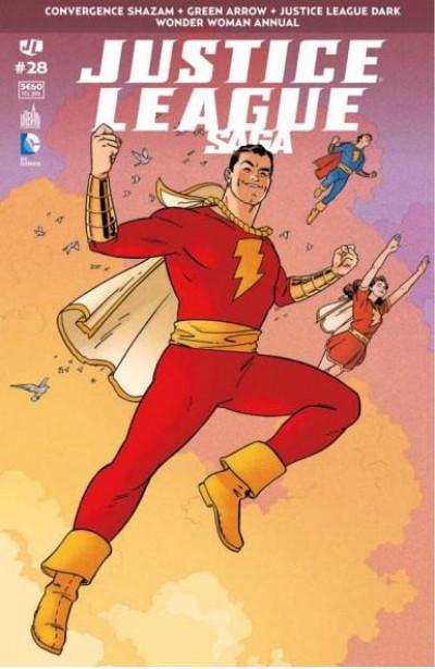 Couverture Justice league saga tome 28