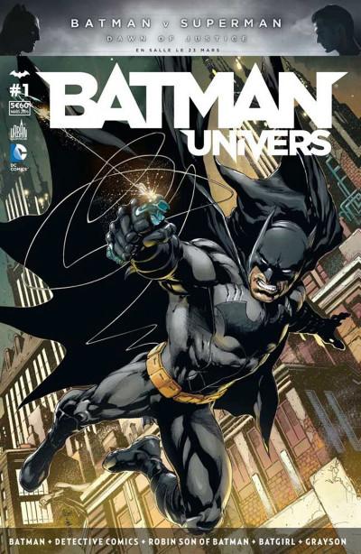 Couverture Batman univers tome 1
