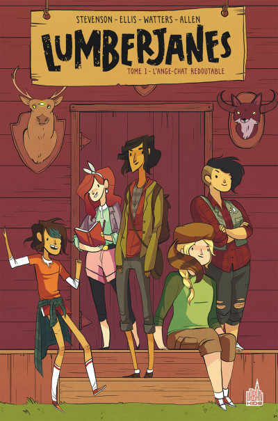 Couverture Lumberjanes tome 1