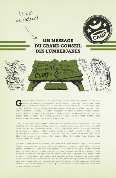 Page 6 Lumberjanes tome 1