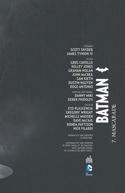 Page 3 Batman tome 7