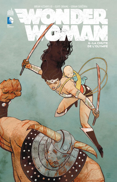 Couverture Wonder Woman tome 6