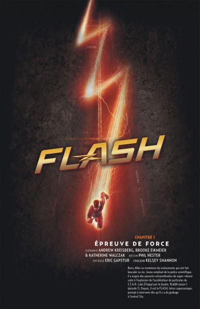 Page 6 Flash, la série TV tome 1
