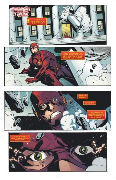 Page 7 Flash, la série TV tome 1
