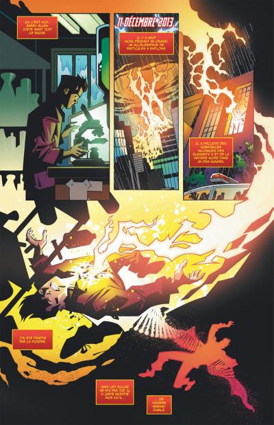 Page 8 Flash, la série TV tome 1